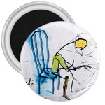 olp sit stick man 3  Magnet