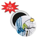 olp sit stick man 1.75  Magnet (10 pack)