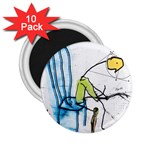olp sit stick man 2.25  Magnet (10 pack)