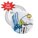 olp sit stick man 2.25  Button (100 pack)
