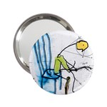 olp sit stick man 2.25  Handbag Mirror