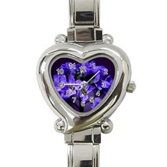 Cuckoo Flower Heart Italian Charm Watch