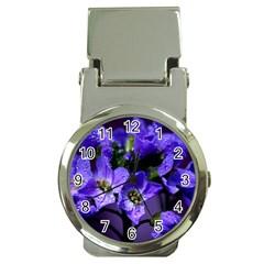 Cuckoo Flower Money Clip With Watch
