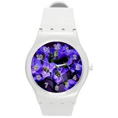Cuckoo Flower Plastic Sport Watch (medium) by Siebenhuehner