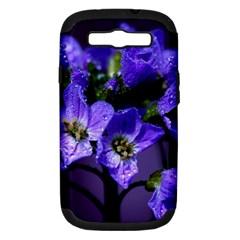 Cuckoo Flower Samsung Galaxy S III Hardshell Case (PC+Silicone)