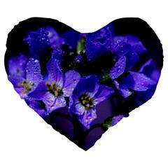 Cuckoo Flower 19  Premium Heart Shape Cushion by Siebenhuehner
