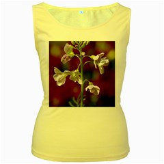 Cuckoo Flower Womens  Tank Top (yellow) by Siebenhuehner