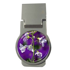 Cuckoo Flower Money Clip (round)