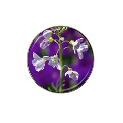 Cuckoo Flower Golf Ball Marker 4 Pack (for Hat Clip) by Siebenhuehner