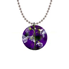 Cuckoo Flower Button Necklace