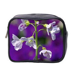 Cuckoo Flower Mini Travel Toiletry Bag (two Sides)