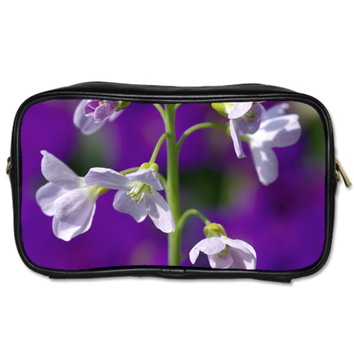 Cuckoo Flower Travel Toiletry Bag (Two Sides)