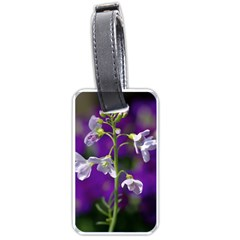 Cuckoo Flower Luggage Tag (two Sides)