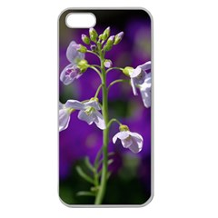 Cuckoo Flower Apple Seamless Iphone 5 Case (clear)