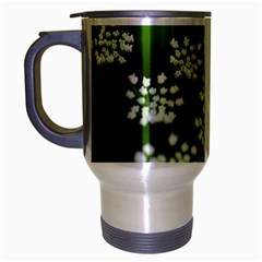 Queen Anne s Lace Travel Mug (silver Gray) by Siebenhuehner