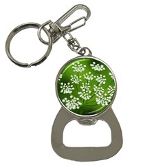 Queen Anne s Lace Bottle Opener Key Chain by Siebenhuehner