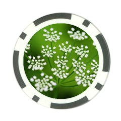 Queen Anne s Lace Poker Chip (10 Pack) by Siebenhuehner