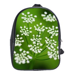 Queen Anne s Lace School Bag (large) by Siebenhuehner