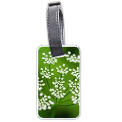 Queen Anne s Lace Luggage Tag (two Sides) by Siebenhuehner