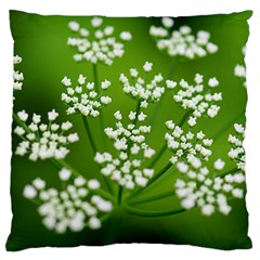 Queen Anne s Lace Large Cushion Case (two Sided)  by Siebenhuehner