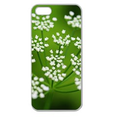 Queen Anne s Lace Apple Seamless Iphone 5 Case (clear) by Siebenhuehner