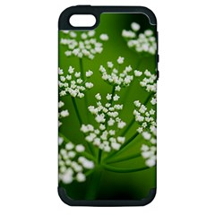 Queen Anne s Lace Apple Iphone 5 Hardshell Case (pc+silicone) by Siebenhuehner