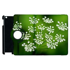 Queen Anne s Lace Apple Ipad 3/4 Flip 360 Case by Siebenhuehner