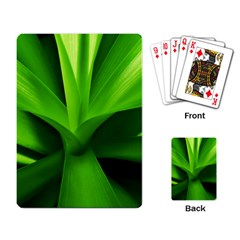 Yucca Palm  Playing Cards Single Design by Siebenhuehner