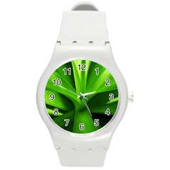 Yucca Palm  Plastic Sport Watch (medium) by Siebenhuehner