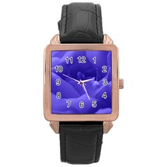 Rose Rose Gold Leather Watch  by Siebenhuehner