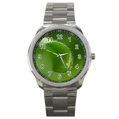 Leaf Sport Metal Watch by Siebenhuehner
