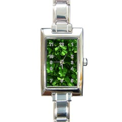 Magic Balls Rectangular Italian Charm Watch by Siebenhuehner