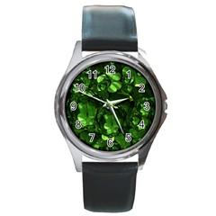 Magic Balls Round Metal Watch (silver Rim)