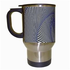 Hypnotisiert Travel Mug (white) by Siebenhuehner