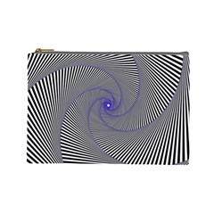 Hypnotisiert Cosmetic Bag (large) by Siebenhuehner