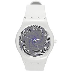 Hypnotisiert Plastic Sport Watch (medium) by Siebenhuehner