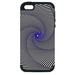 Hypnotisiert Apple Iphone 5 Hardshell Case (pc+silicone) by Siebenhuehner
