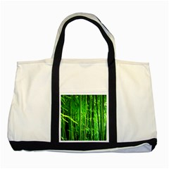 Bamboo Two Toned Tote Bag by Siebenhuehner