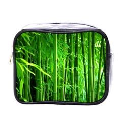 Bamboo Mini Travel Toiletry Bag (one Side) by Siebenhuehner