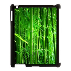 Bamboo Apple Ipad 3/4 Case (black) by Siebenhuehner