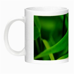 Bamboo Leaf With Drops Glow In The Dark Mug by Siebenhuehner