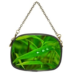 Bamboo Leaf With Drops Chain Purse (one Side) by Siebenhuehner