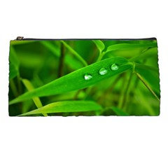 Bamboo Leaf With Drops Pencil Case by Siebenhuehner