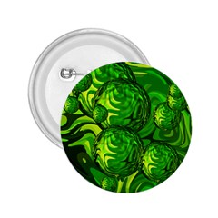 Green Balls  2 25  Button by Siebenhuehner