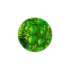 Green Balls  Golf Ball Marker 10 Pack