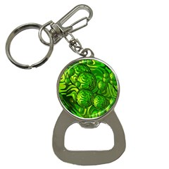 Green Balls  Bottle Opener Key Chain by Siebenhuehner