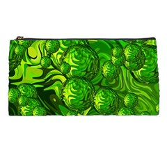 Green Balls  Pencil Case by Siebenhuehner