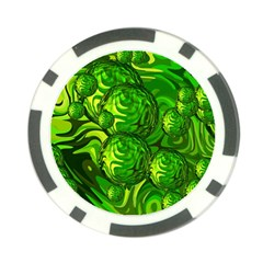 Green Balls  Poker Chip (10 Pack) by Siebenhuehner
