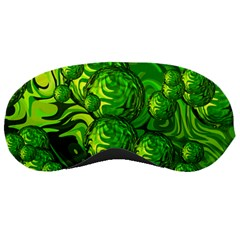 Green Balls  Sleeping Mask by Siebenhuehner