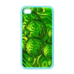 Green Balls  Apple Iphone 4 Case (color) by Siebenhuehner